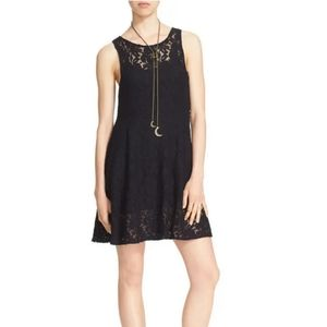Free People 'Miles of Lace' Fit & Flare Dress  - L